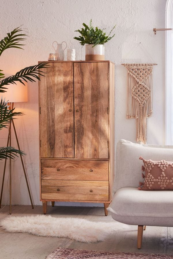 amelia armoire best furniture from urban outfitters. Black Bedroom Furniture Sets. Home Design Ideas