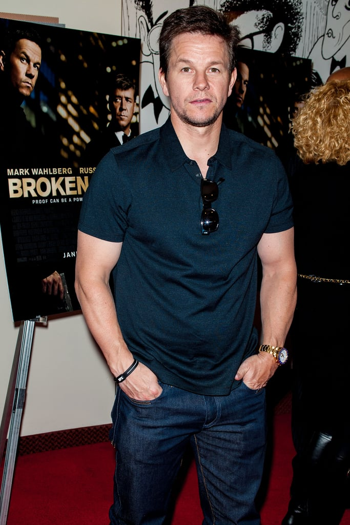 Mark Wahlberg stepped out to premiere his Broken City in Philadelphia.