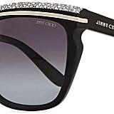 Jimmy Choo Sophia Embellished Sunglasses ($465)