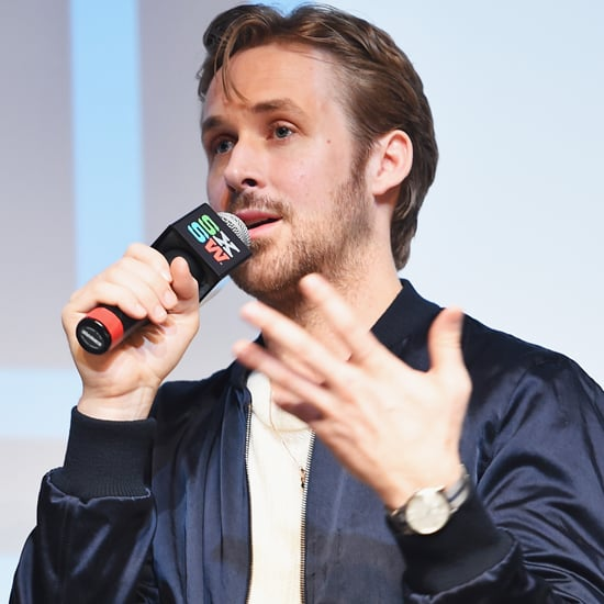 Ryan Gosling Helps Woman's Propose on Stage at SXSW
