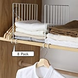 Kosiehouse Metal Wire Closet Shelf Divider