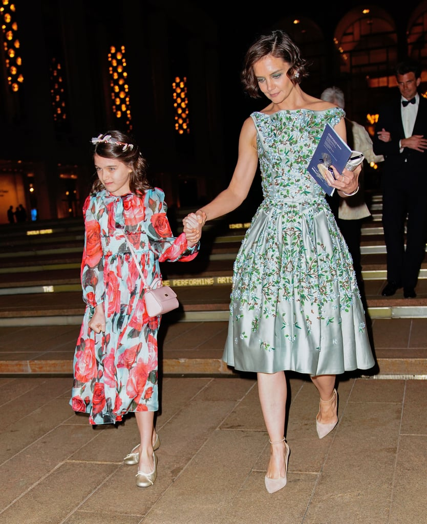 Katie Holmes and Suri Cruise at Ballet 2018