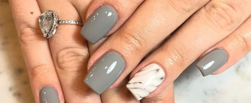 50+ Great Gray Nail Art - best nail art