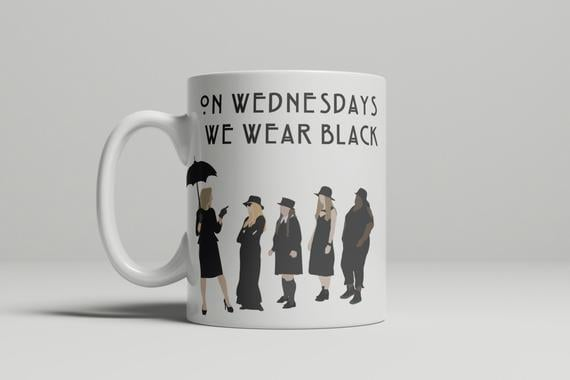 On Wednesdays We Wear Black Mug