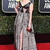 Anne Hathaway at the 2019 Golden Globes