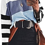 Cordat Casual Colorblock Oversize Sweater