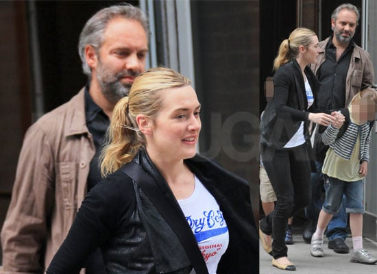Photos of Kate Winslet and Sam Mendes Together On School Run