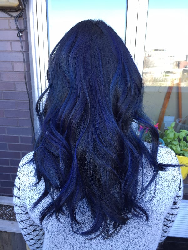 Ceylon Sapphire Rainbow Hair Color Ideas For Brunettes