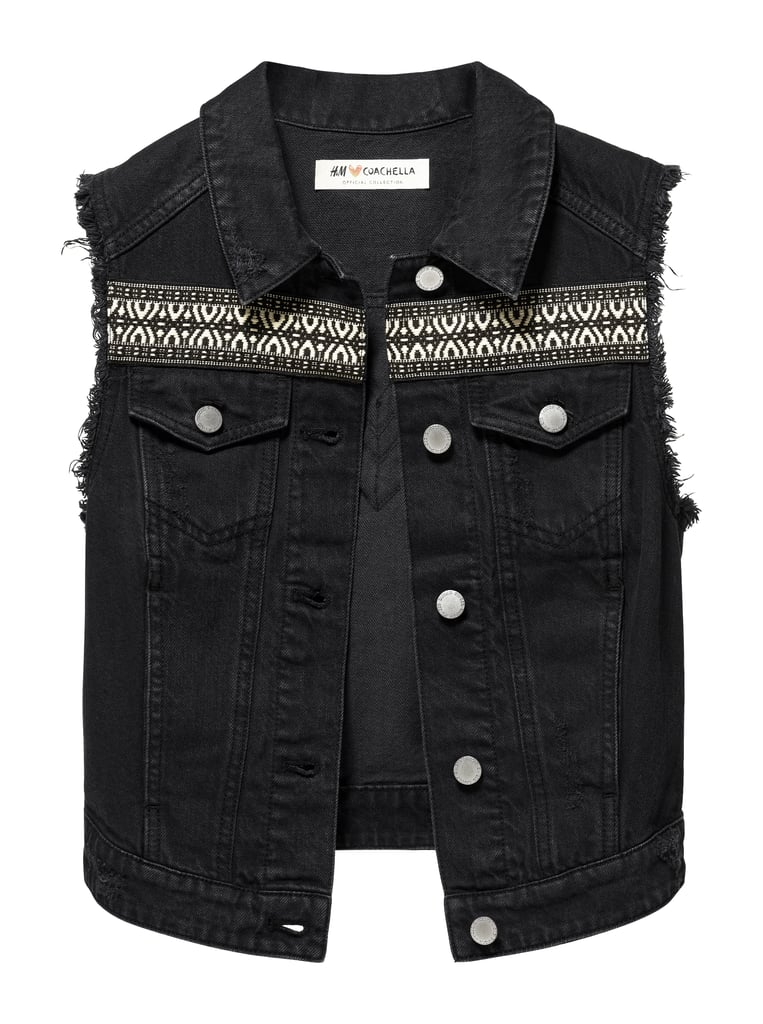 H&M LOVES COACHELLA Denim Vest with Panel Detail ($50)