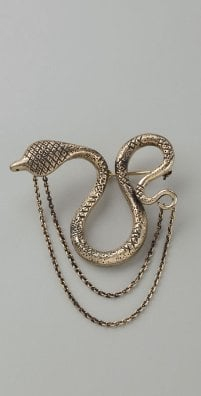 Elizabeth and James Snake Lapel Pin: Love It or Hate It?