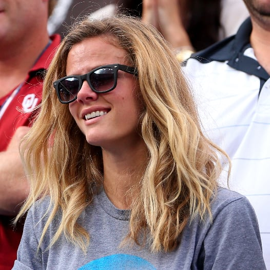 Brooklyn Decker Crying At Husband Andy Roddick's Final Game