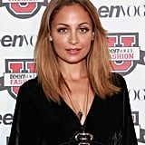 Nicole Richie posed at the Teen Vogue Fashion University event in NYC.