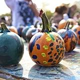 Paint pumpkins.