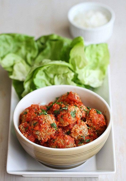 Turkey and Zucchini Quinoa Meatballs