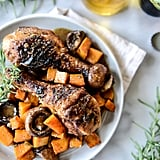 Cider-Braised Chicken With Butternut Squash