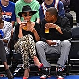 Who wouldn't want to indulge in courtside brews with Beyoncé and Jay Z?