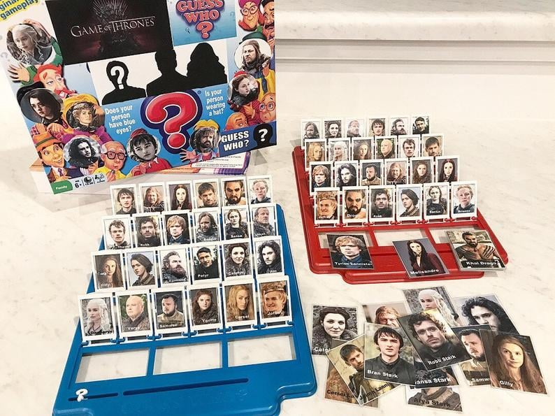 Game of Thrones Guess Who? Game