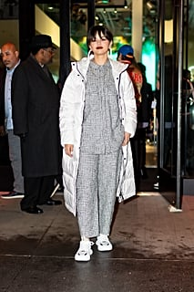 Selena Gomez Looks Like She's Taking Style Notes From Billie Eilish in This Badass Outfit