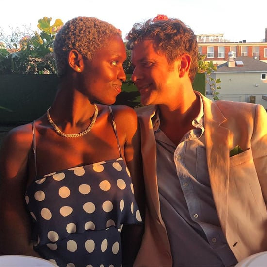 Jodie Turner-Smith and Joshua Jackson Instagram Photo 2019