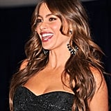 Sofia Vergara brought her fun personality out to the dinner.