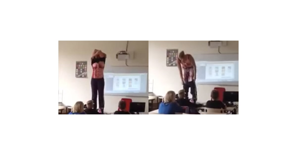 Teacher Strips to Teach Kids Biology | POPSUGAR Family