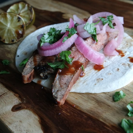 Australia Day Vegemite Steak Taco Recipe