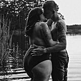 Body-Positive Couple Boudoir Shoot