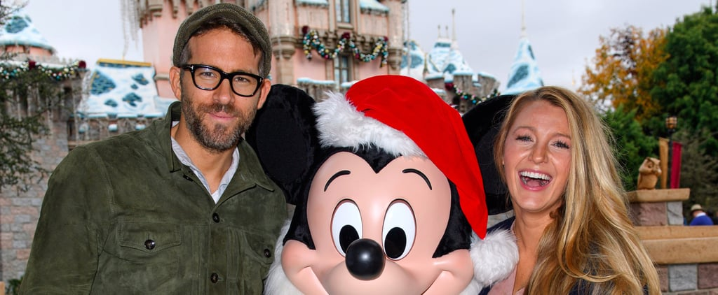 Blake Lively and Ryan Reynolds (and Mickey) Get Into the Holiday Spirit at Disneyland