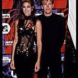 Cindy Wore This Versace Dress to the 1992 MTV VMAs