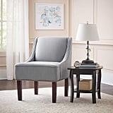 Ravenna Home Jacobsen Contemporary Nailhead Trim Accent Chair