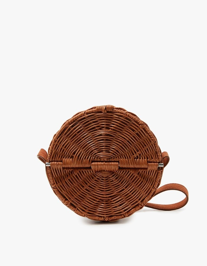 The cutest cross-body bag comes in the form of Rachel Comey's all wicker Baan bag ($636).
