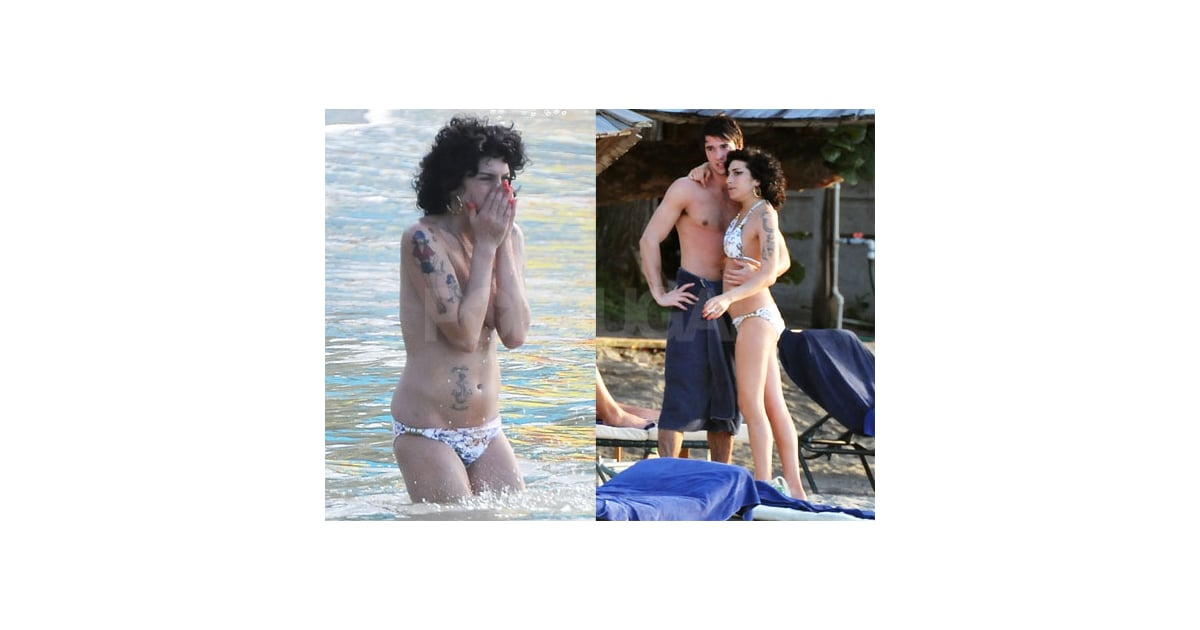 Amy winehouse hits the beach popsugar celebrity for House hits 88