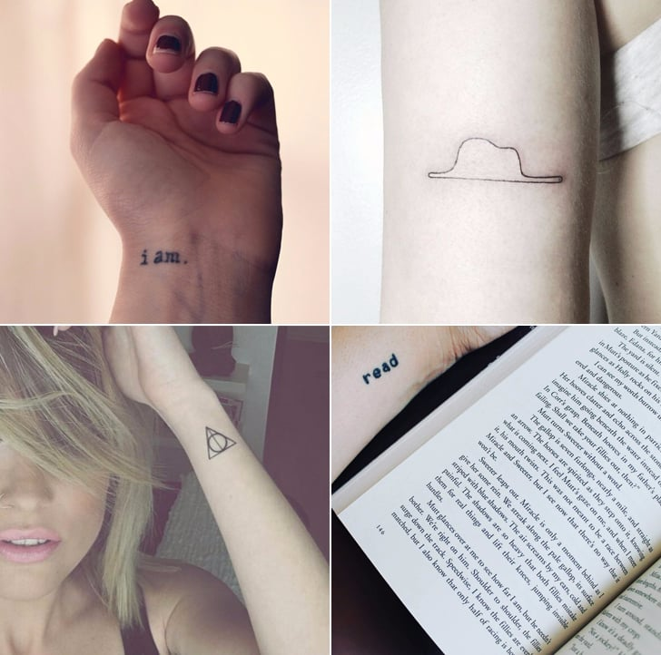 46aab09cdd401 Tiny Literary Tattoos | POPSUGAR Love & Sex