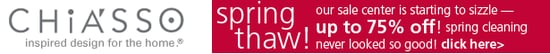Sale Alert: Chiasso Spring Thaw