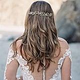 Rustic Gold Star Flower Wedding Crown