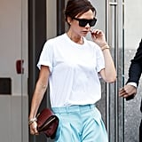 Style Your T-Shirt With: Trousers and a Bag