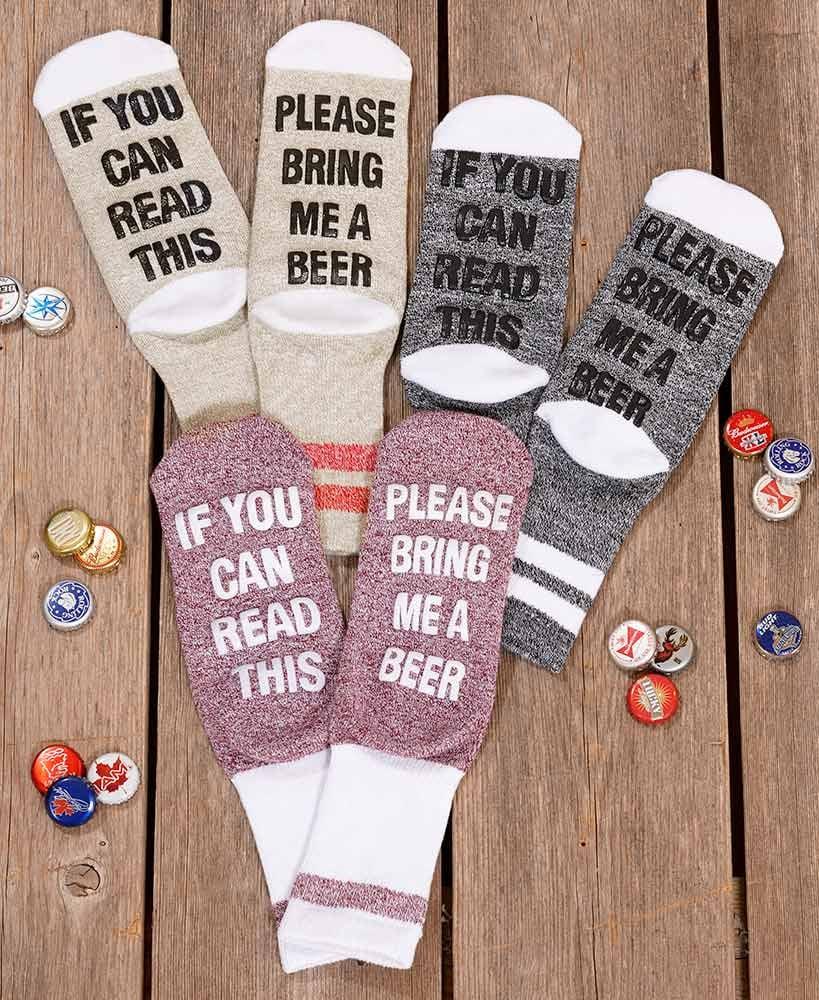 Beer Slipper Socks