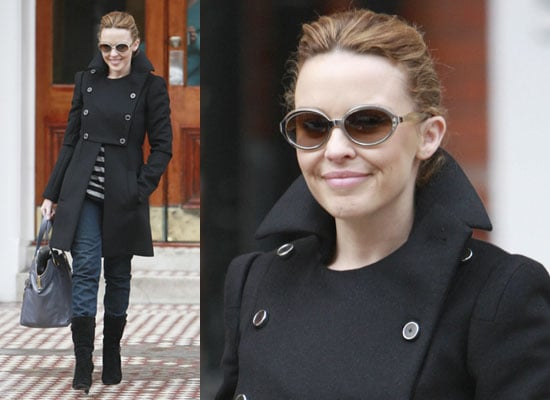 Photos of Kylie Minogue in London, Who Is Arranging a Memorial Service and Fundraiser For Australian Bush Fire Victims