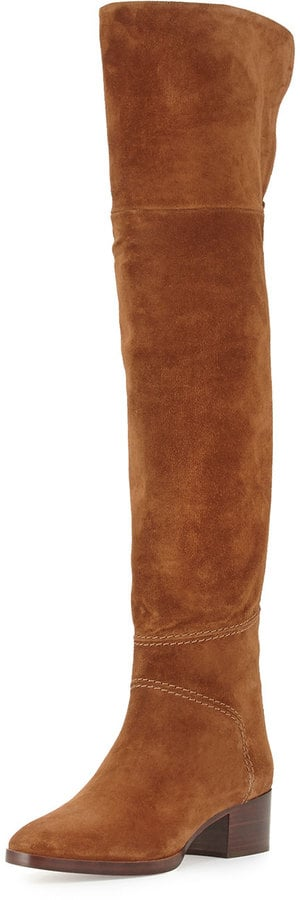 Chloé Suede Over-the-Knee Flat Boot ($1,625)