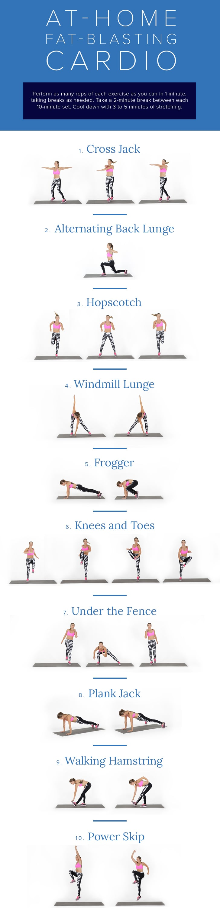 At Home Bodyweight Workouts Popsugar Fitness