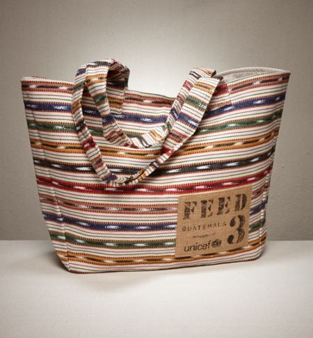 Socially-Conscious Shopping: FEED Guatemala Bags