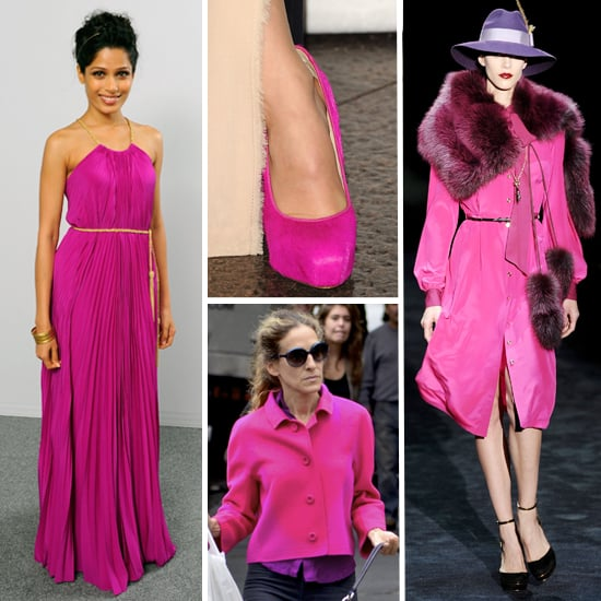 Fall 2011 Color Trend: Fuchsia