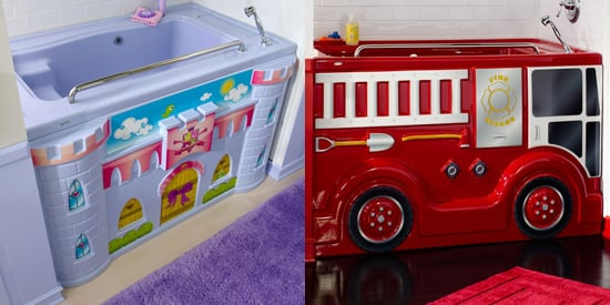 Firetruck and Castle Bathtubs For Kids | POPSUGAR Moms