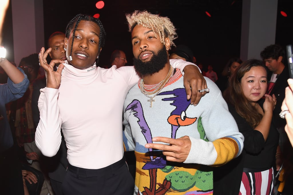 Pictured: A$AP Rocky and Odell Beckham Jr.