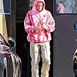 Justin Also Seems to Be a Fan of the Trouser Trend