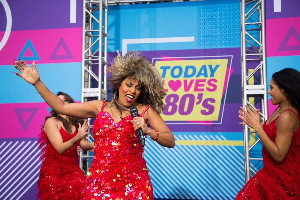 Sheinelle Jones As Tina Turner Celebrity Halloween Costumes 2018