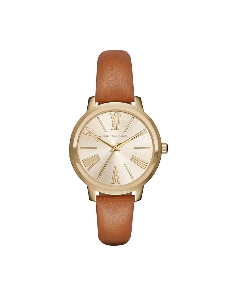 Michael Kors Hartmen Brown Watch ( 244)  8d1da2ac9