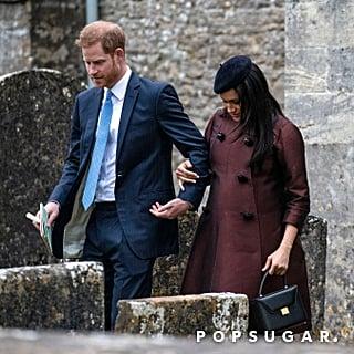 Meghan Markle Victoria Beckham Bag March 2019