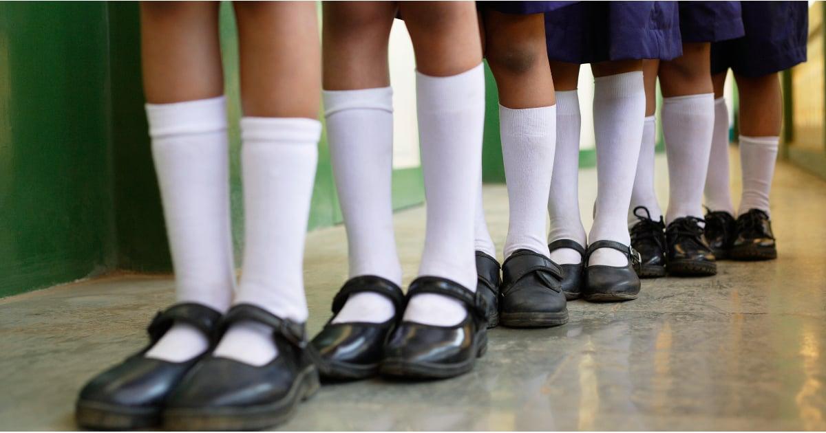 Japanese school girls in panties