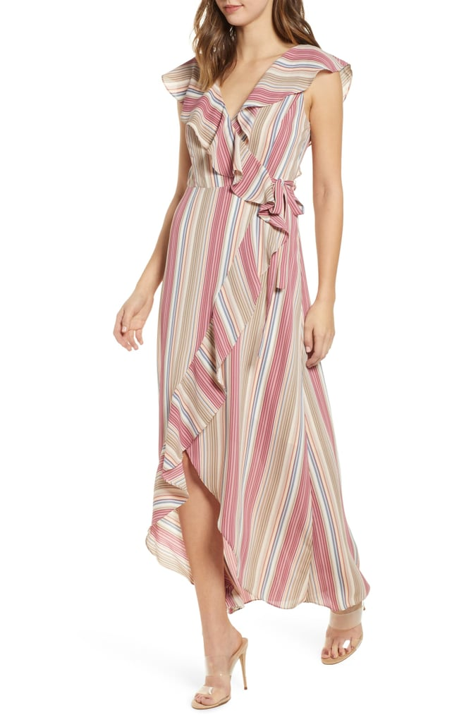 7cdfa5ab5e34b Leith Ruffle Wrap Maxi Dress | Best Cheap Maxi Dresses 2019 ...